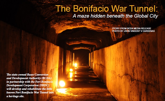 The Bonifacio War Tunnel in Global City