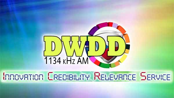 "DWDD (1134 kHz Metro Manila) ""Katropa AM Radio"" is an AM radio station, which transmitter and studios are located at 3rd Floor, PVAO Building, Camp Emilio Aguinaldo, Quezon City, Philippines."
