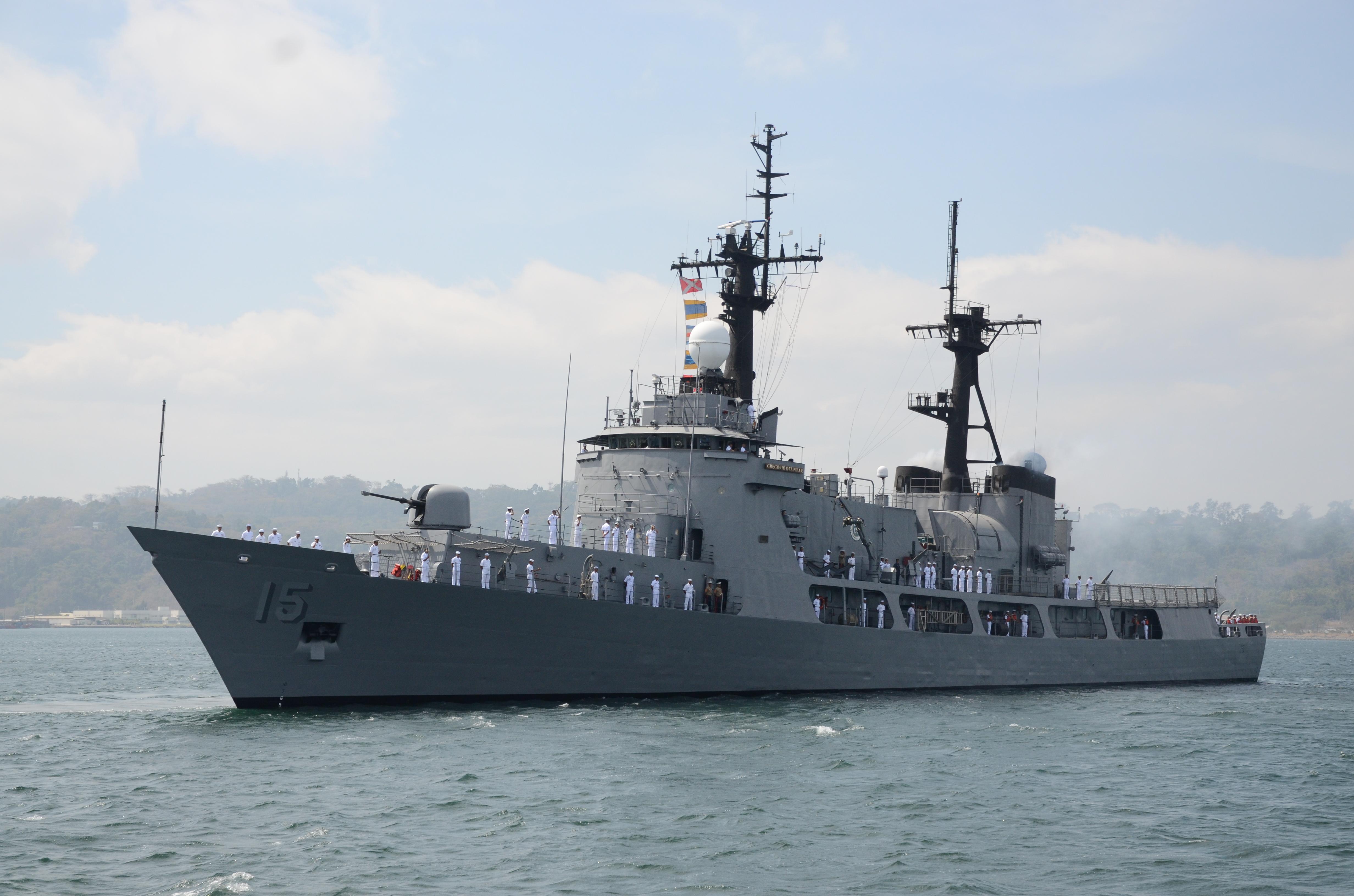 Pn Sends Gregorio Del Pilar For Naval Exercise In