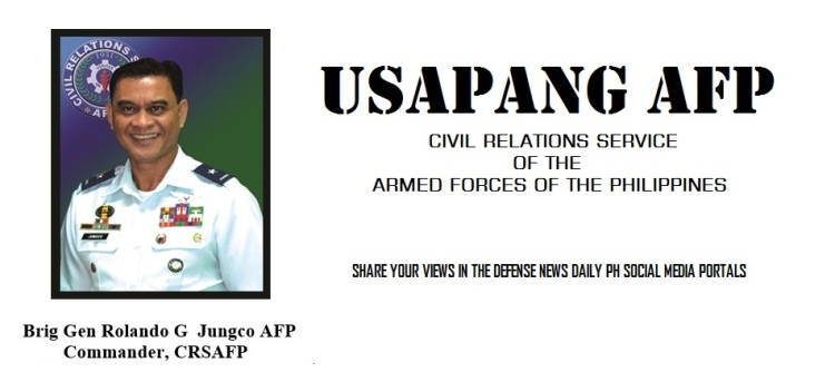 Usapang AFP by: General Rolando Jungco CGCRSAFP