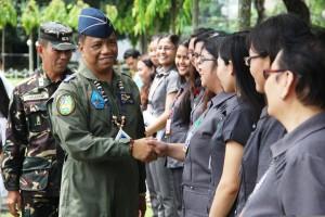 CENTCOM  COMMANDER promotes to the next higher rank of Lieutenant General
