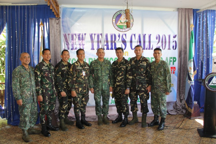 Ground commanders together with Lieutenant General Guerrero and Brigadier General Carlito Galvez, Deputy Commander for Peace Process.