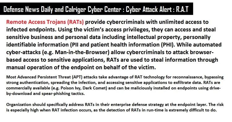 RAT Cyber Attack