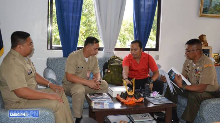 SolarRev Calriger in Philippine Navy Marines
